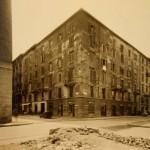 Archivio Storico - Via Castaldi angolo via Settala dopo i bombardamenti della Seconda Guerra Mondiale
