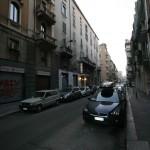 Stato di fatto, via P. Castaldi 26, Milano