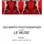 Gio Barto invito vernissage