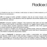 RadicediK#01 La Conoscenza - Comunicato Stampa