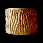 11. Paola Grott, Bracciale Corteccia, h cm 5,3