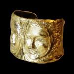 4. Paola Grott, Bracciale Specchio, h cm 5,5