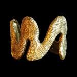 8. Paola Grott, Bracciale Serpente, h cm 5,5